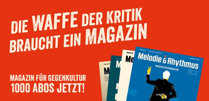 Die Waffe der Kritik braucht ein Magazin!